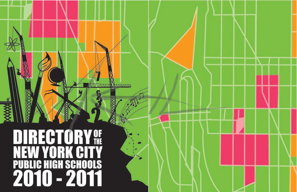 Directory of the New York City Public High Schools, 2010-2011 Ed. (Cover)