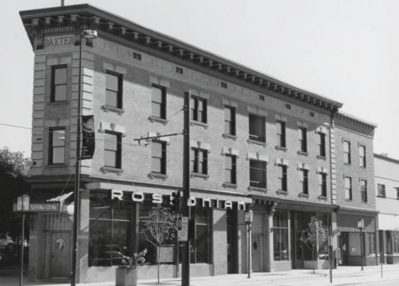 Rossonian Hotel, date unknown. Courtesy of Denver Public Library, Western History Department, Clarence F. Holmes Collection