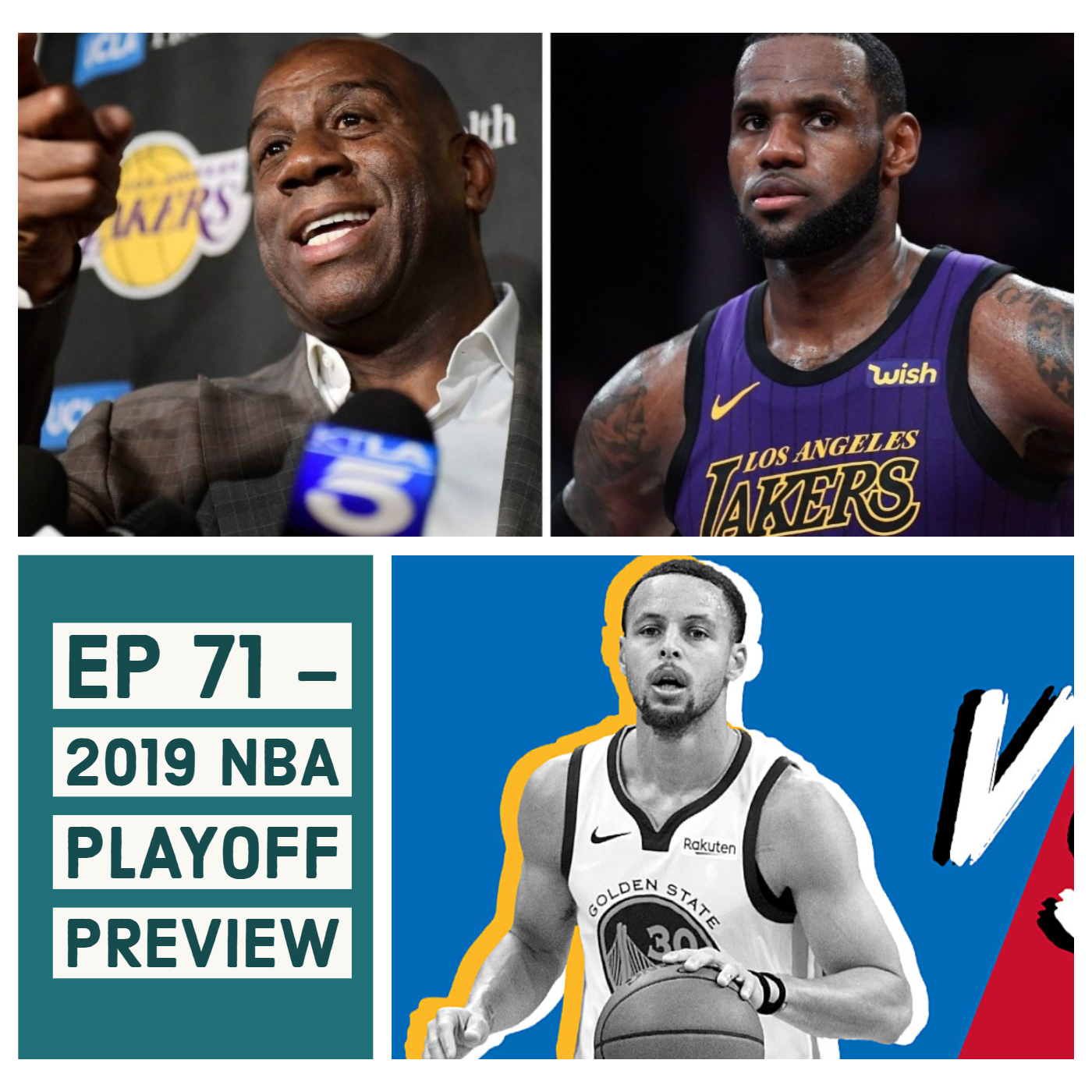LBRS Ep 71 - 2019 NBA Playoff Preview — Gifted Sounds Network