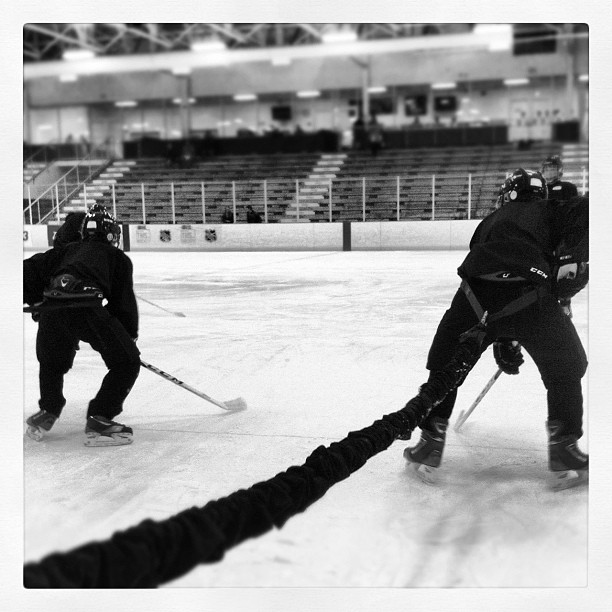 #ccmskillscamp w/@bungeeathletics (Taken with Instagram at Compuware Arena)