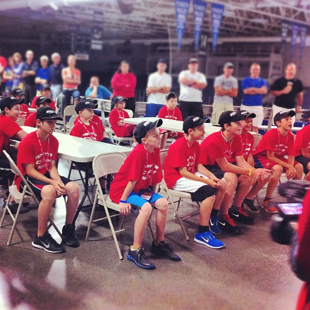 #ccmskillscamp (Taken with Instagram at Compuware Arena)