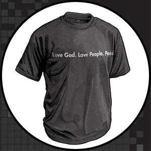 Love God. Love People. Period.