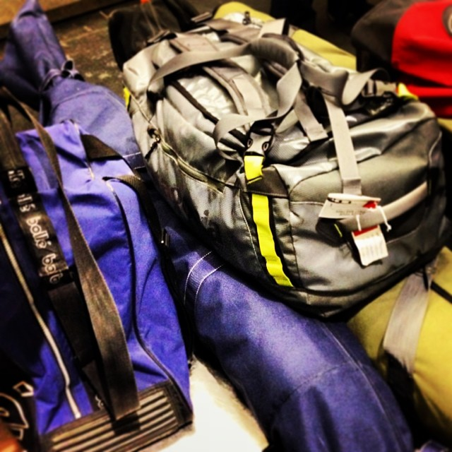Gear's ready for Colorado. We'll find out about the legs in the morning! #coppermtn