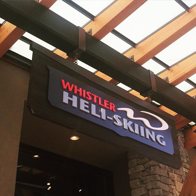 Up next... #whistlerblackcomb #heliskiing #bucketlist