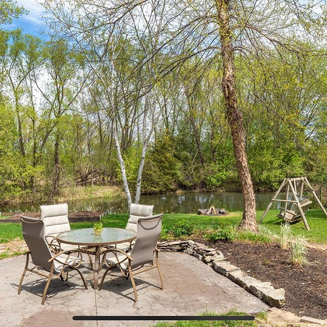 We're going to miss this backyard. #ForSale #Lakeville #Minnesota