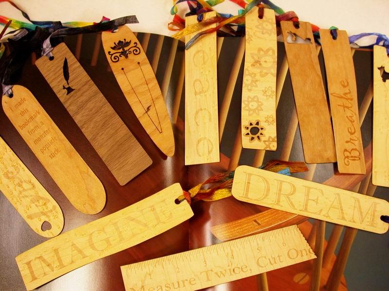 laser cut wood bookmarks.JPG