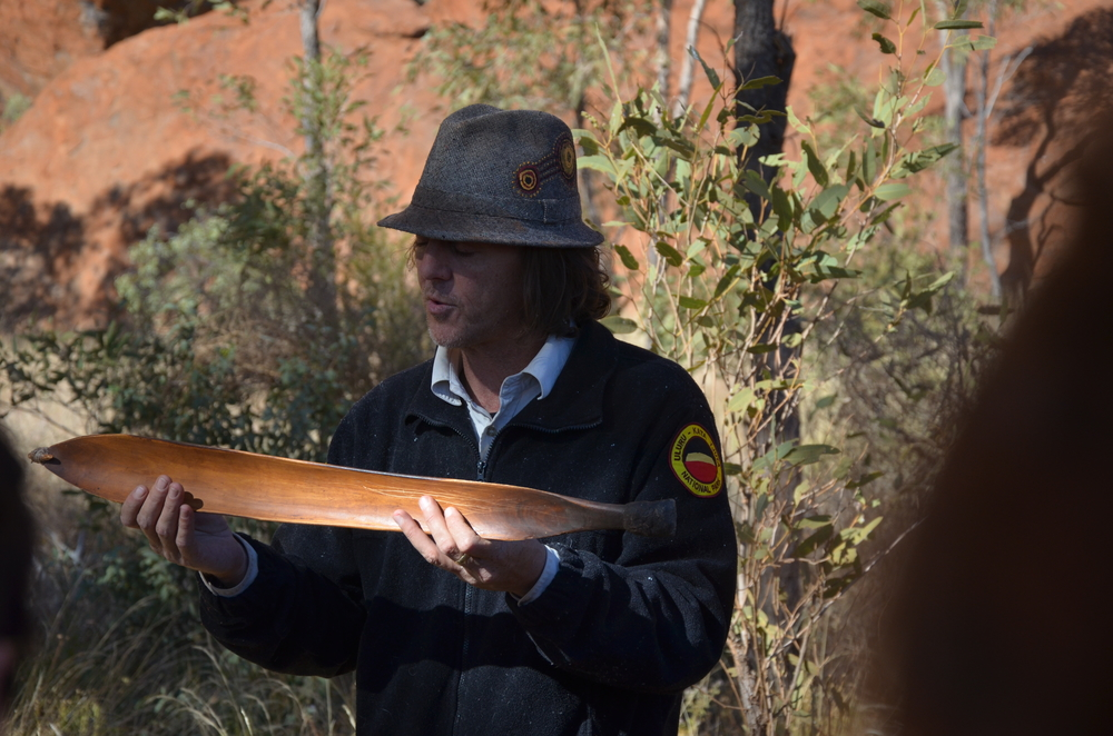 The free ranger guided tour at Uluru was exceptional!