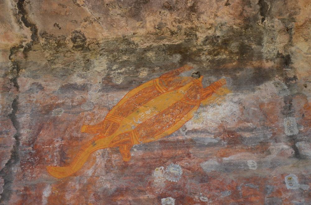 Aboriginal artwork.