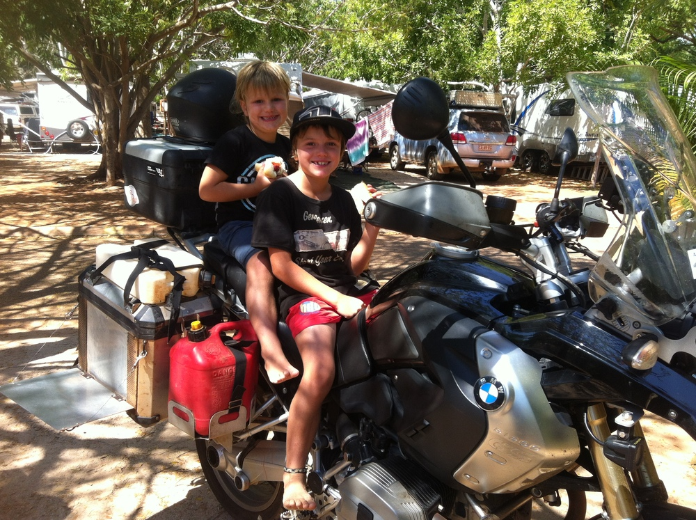 Future Adventure Motorcyclists, Jett & Hugo