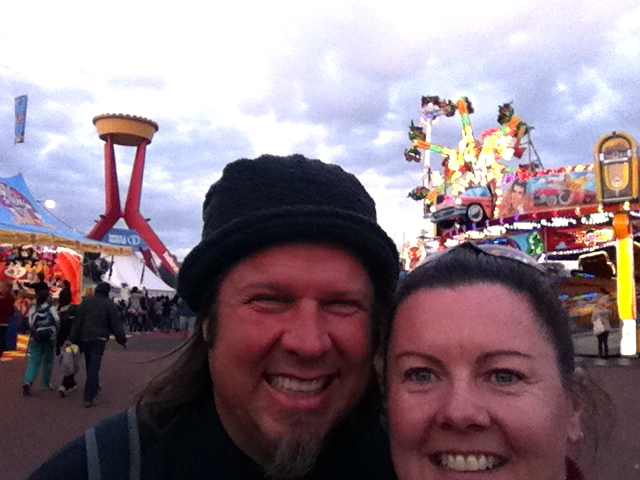 Cat & Kev at the Royal Melbourne Show.