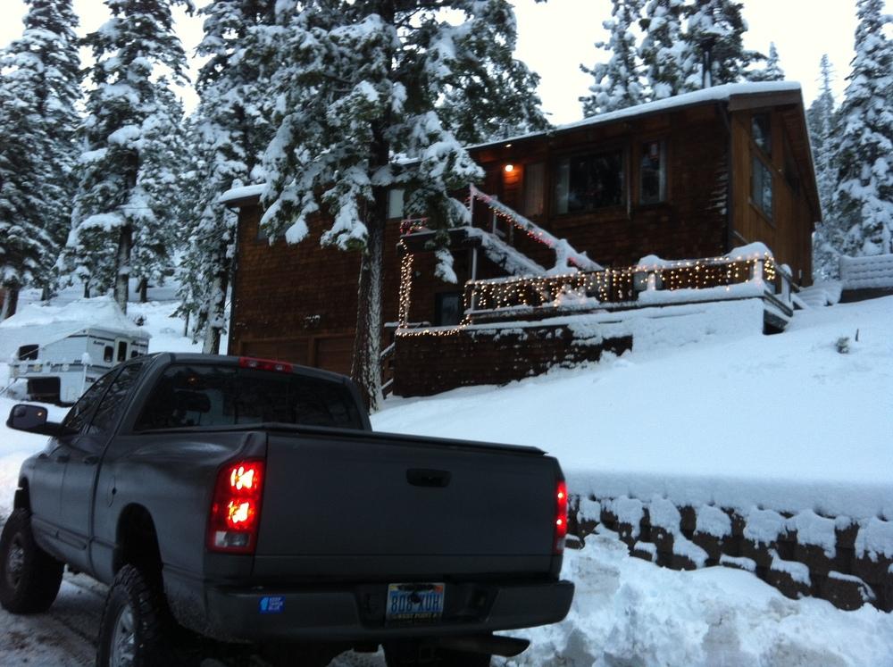 Back at Lake Tahoe, Nevada side USA