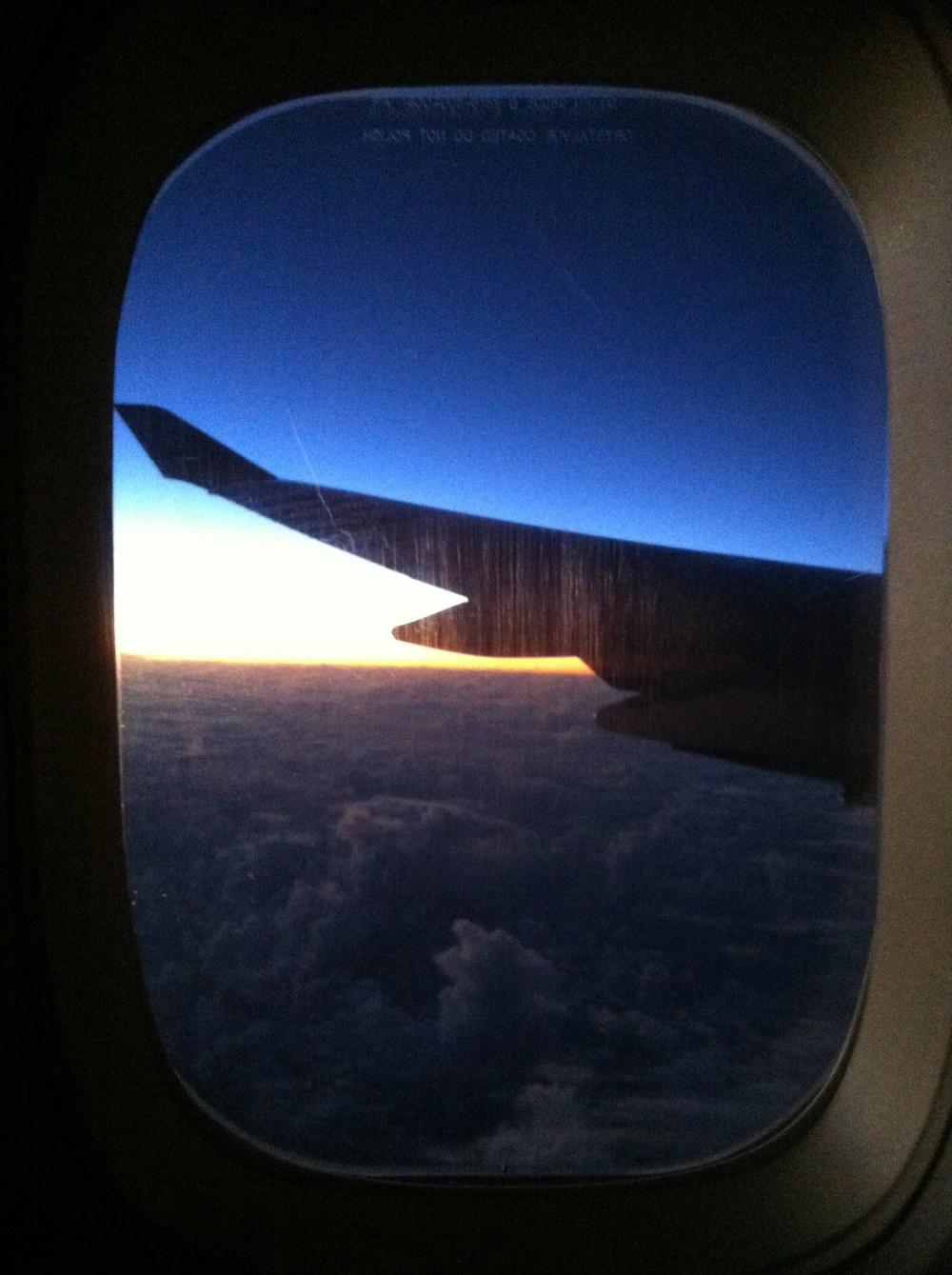 Sunrise in the Southern Hemisphere
