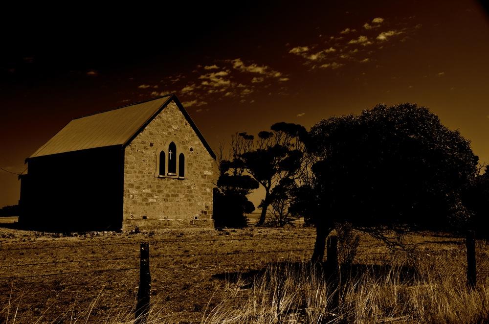 Church next to Colton Bread Shac