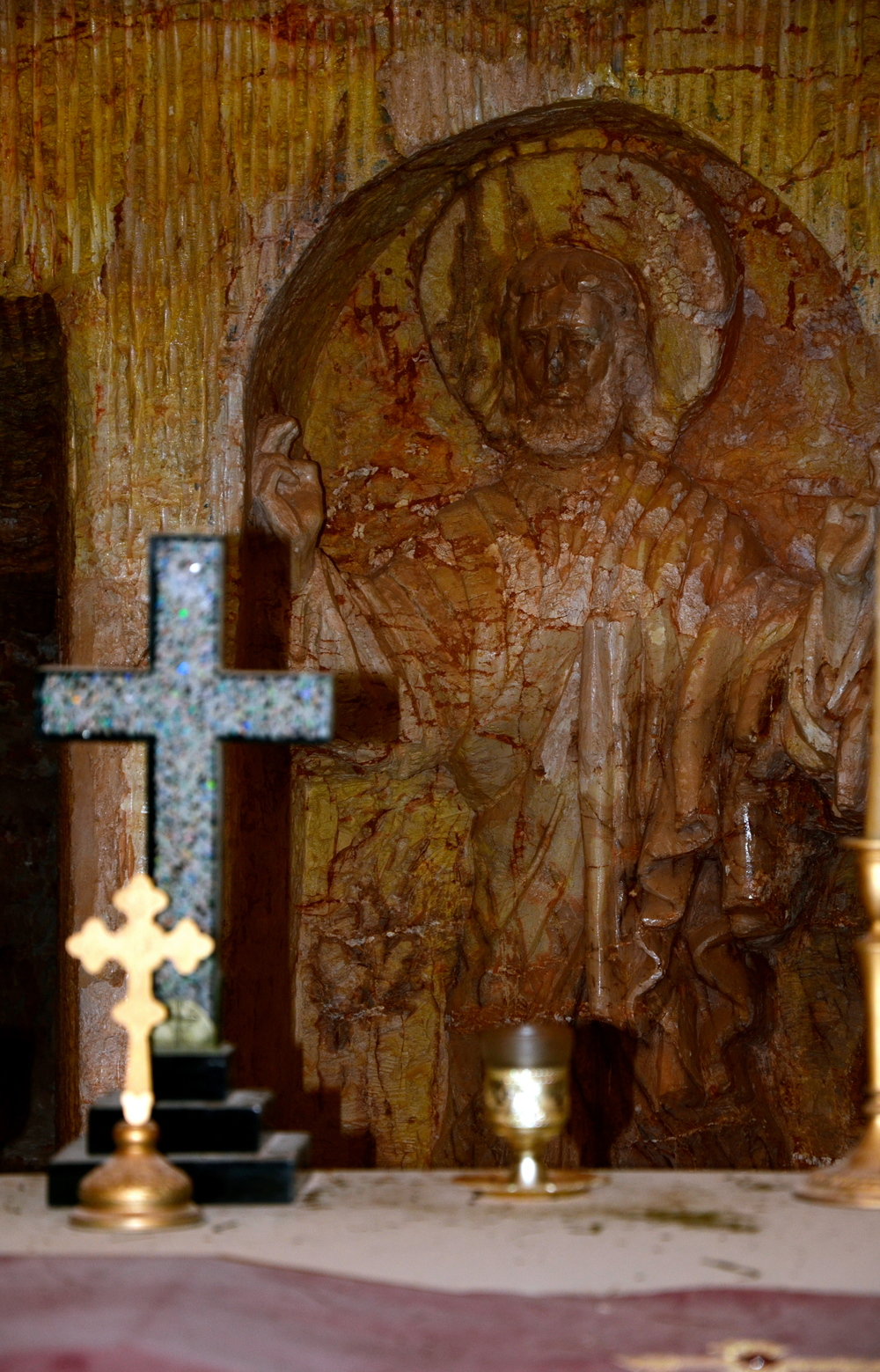 Beautiful opal cross.