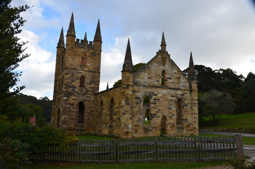 convict built church