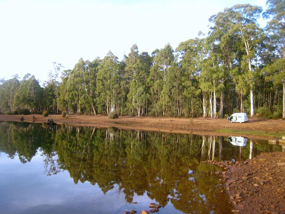 Awesome free camp @ Lake Binney