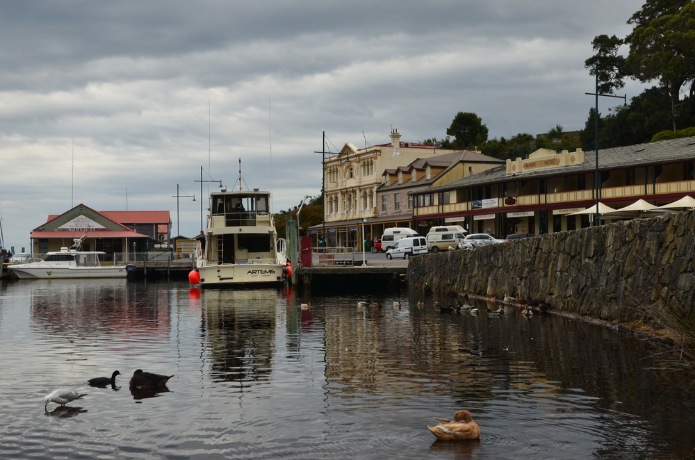 Charming seaside town of Strahan