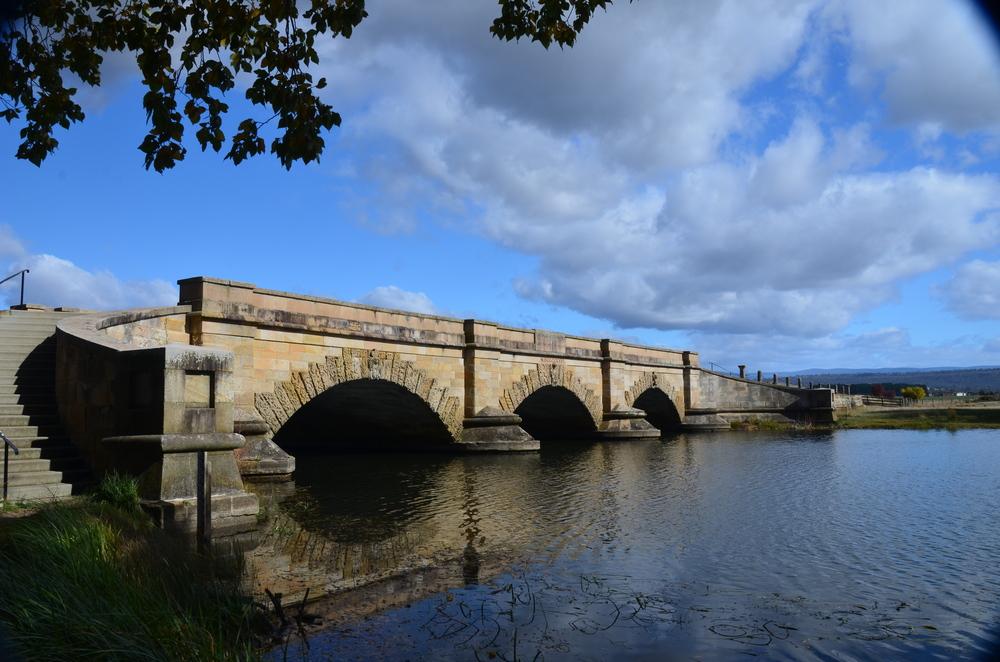 Convict built bridge at Ross.