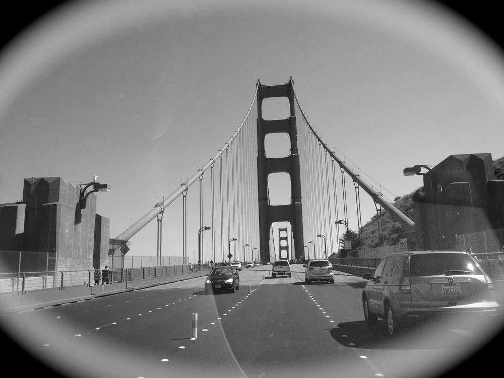 A quick stop over in Frisco...probably one of the most photographed bridges, The Golden Gate...it never gets old!