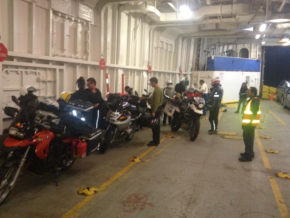 Time to disembark!