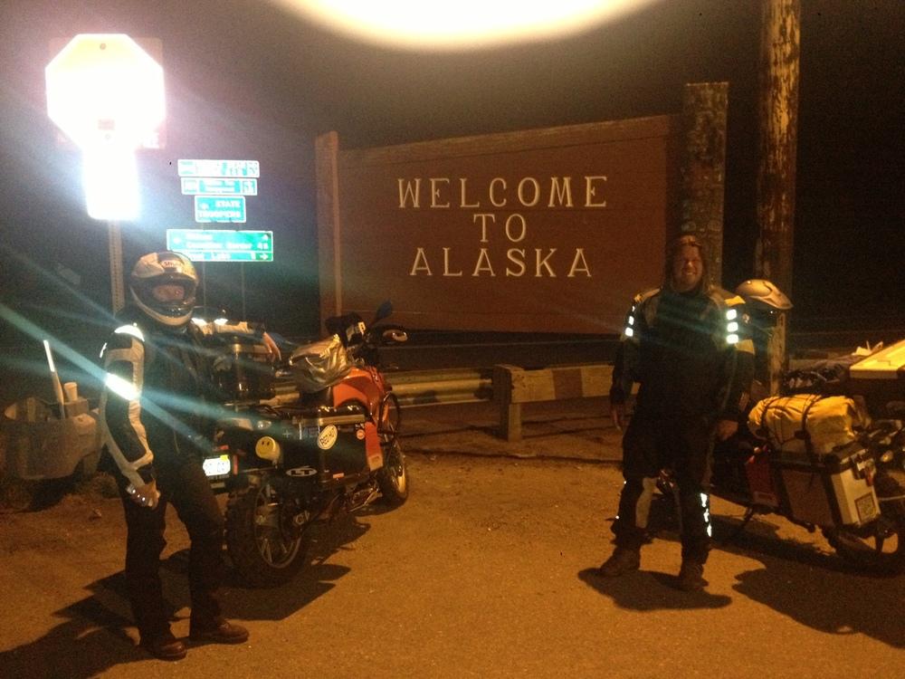 We're in Alaska!