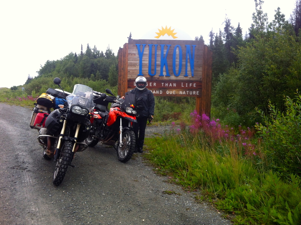 We have reached the Yukon, Canada