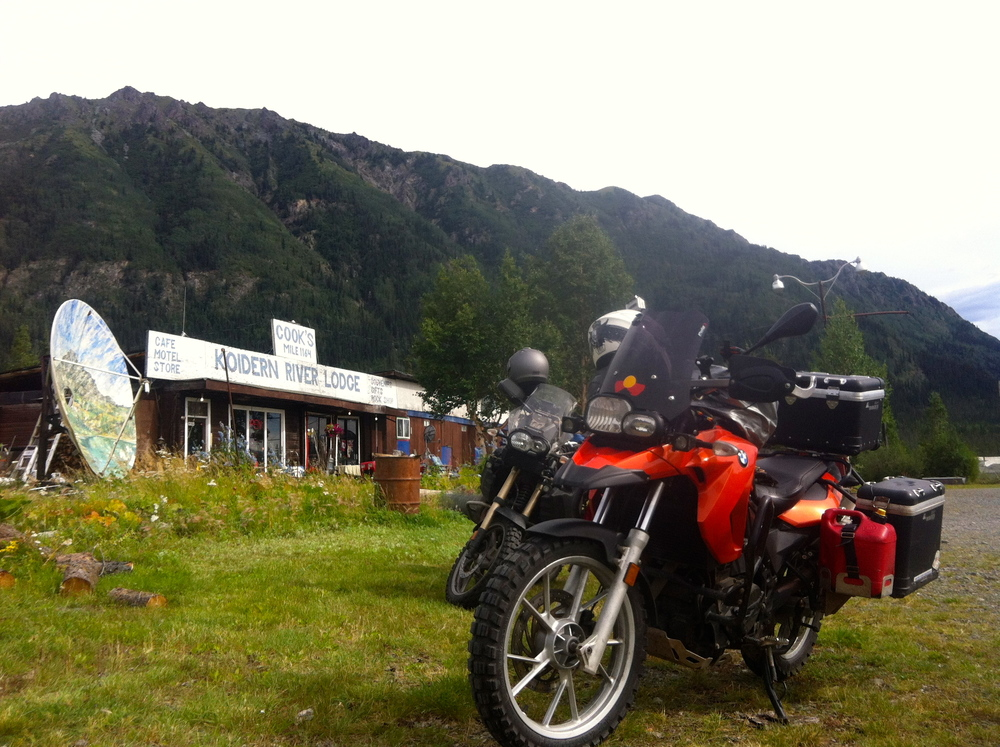 Stop for a stretch and a drink at this very interesting place! Not far from Beaver Creek and the border now