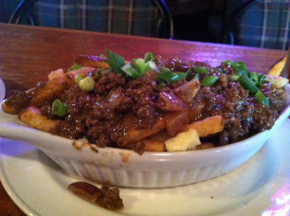 This is the Newfie Mess Poutine...