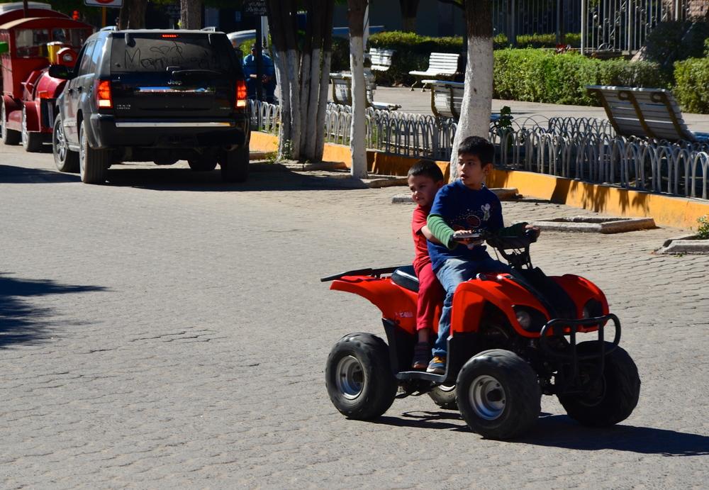 Children on quads