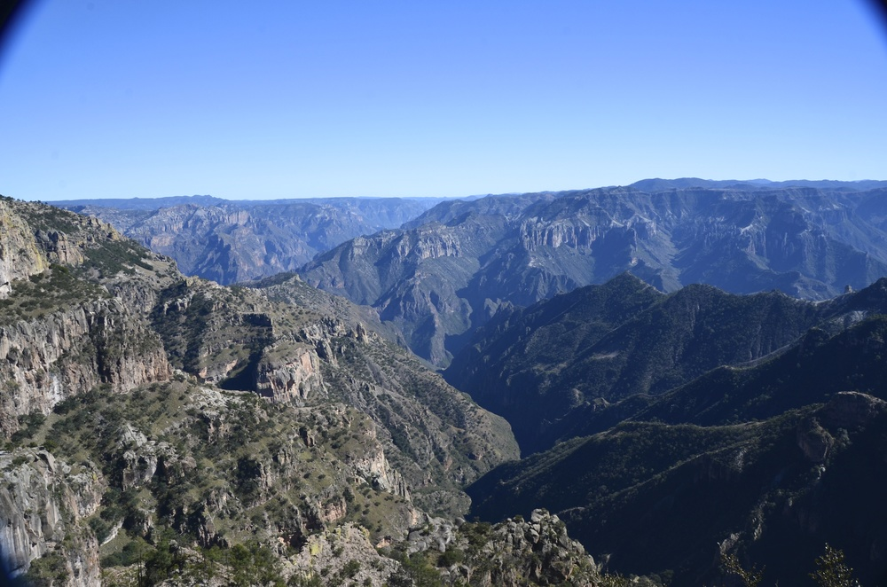 3 of the 6 canyons merge in Diviserado