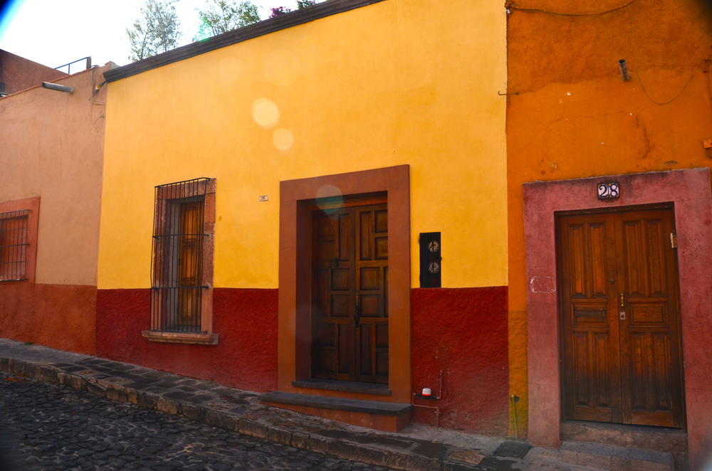 Casa Paul…The yellow and burgundy building….Looks can be  deceiving!