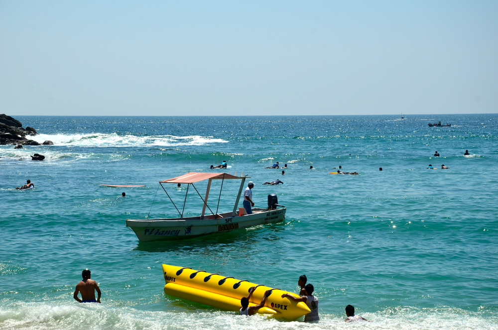 We spent many days at Playa Crrizalillo, swimming, surfing and lounging
