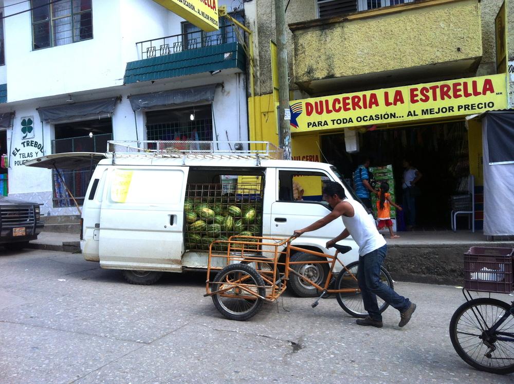 Modern day Palenque