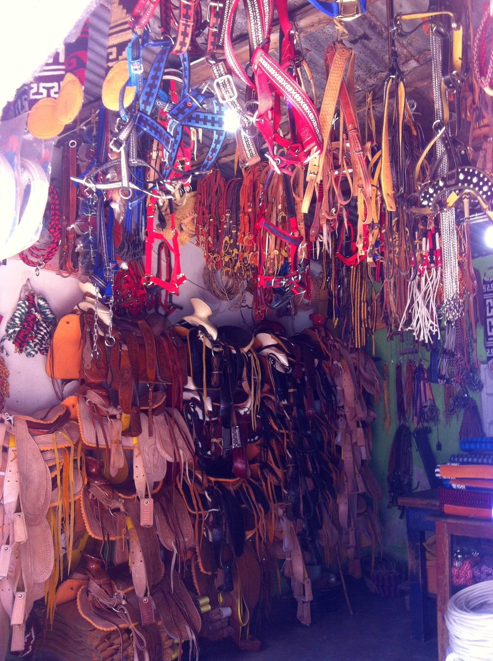 Saddle store