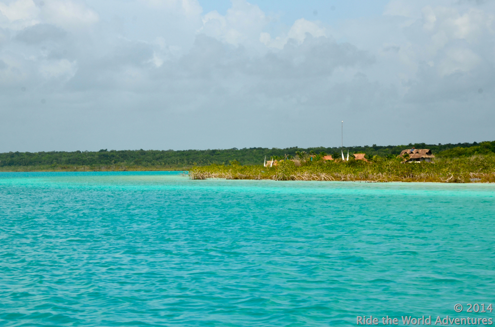 Bacalar's amazing alluring colors!