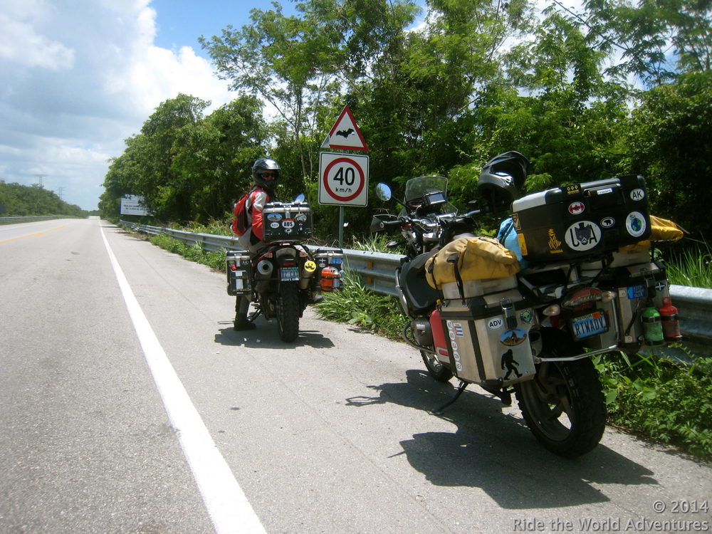 On our way to Calakmul…the Bat Cave is near by!