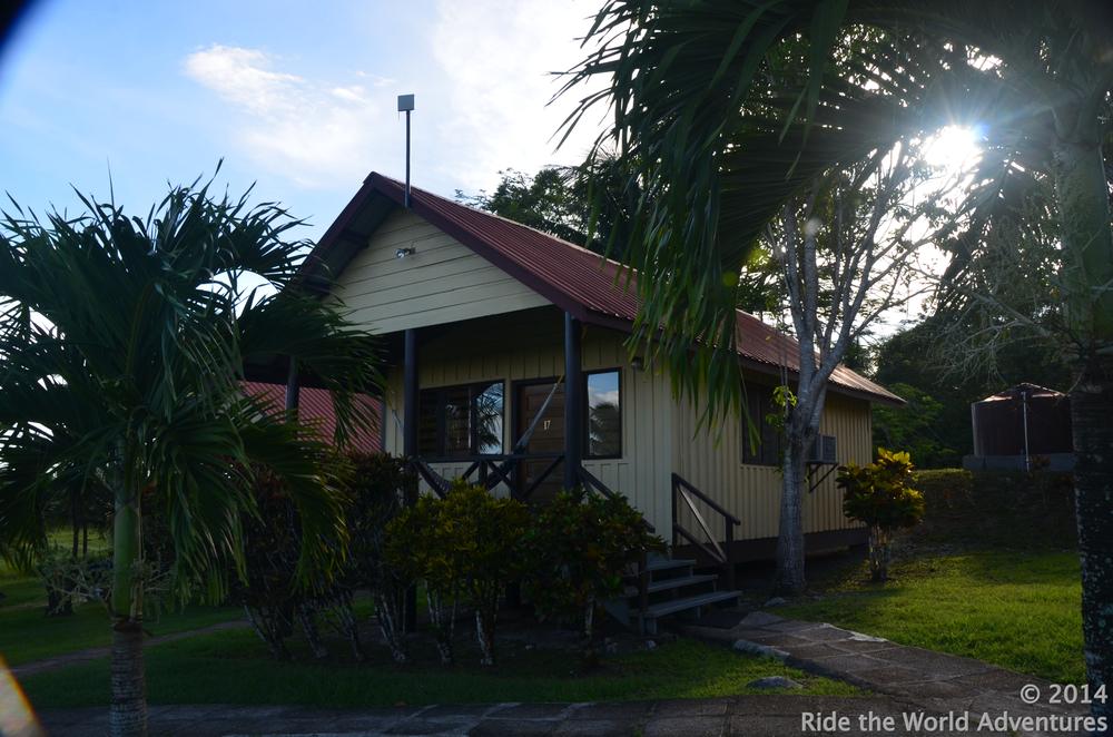 Buenas dias….Our bungalow!