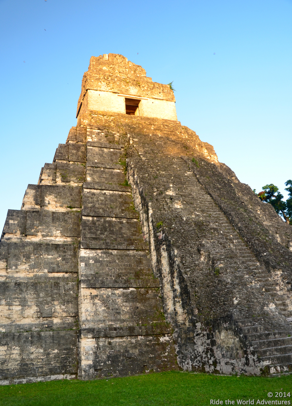 The Great Jaguar Temple rises 156 feet high
