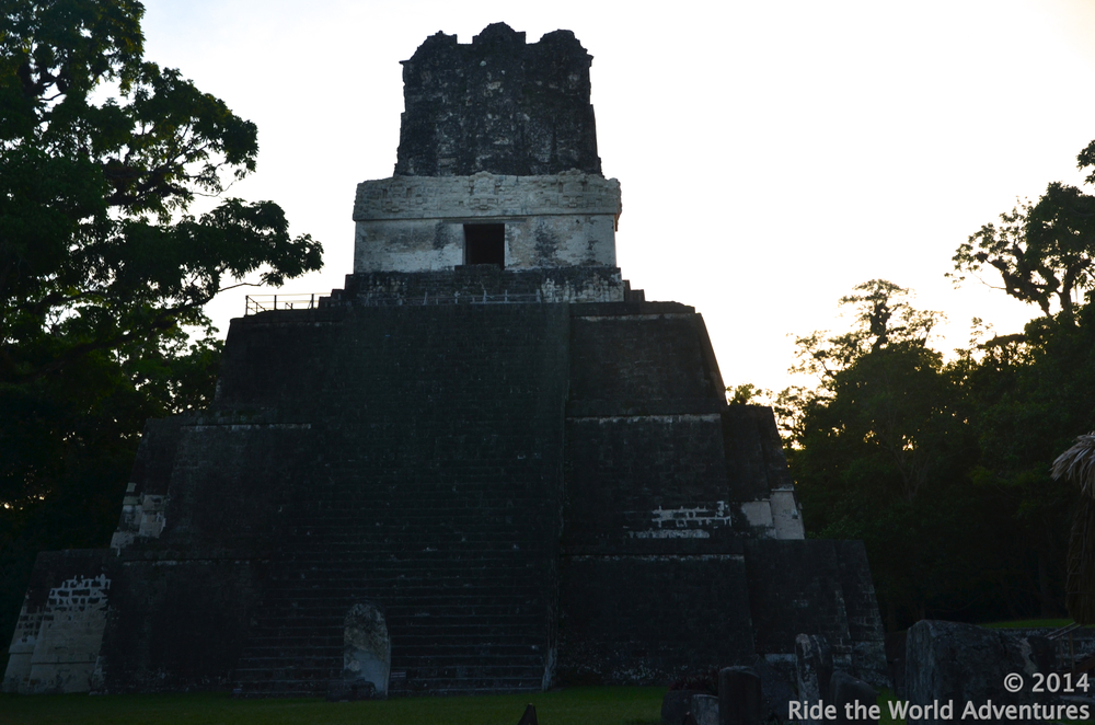 Temple of Masks/Faces, built around 700 A.D. in honor of the wife of the ruler Ah Cacao