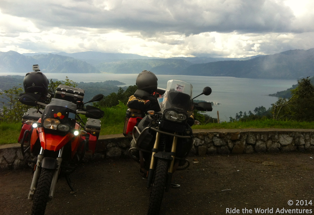 Our ride took us around Lake Atitlan, in and out of villages…it was a beautiful ride.