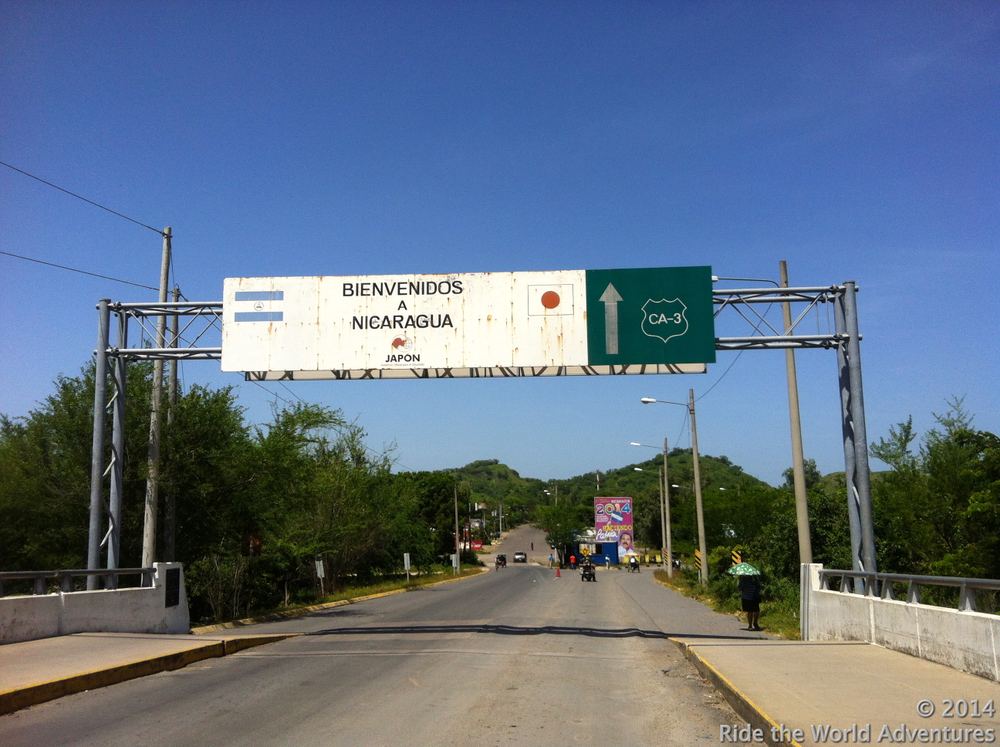 It was a very hot ride across Honduras….and the heat is not letting up!