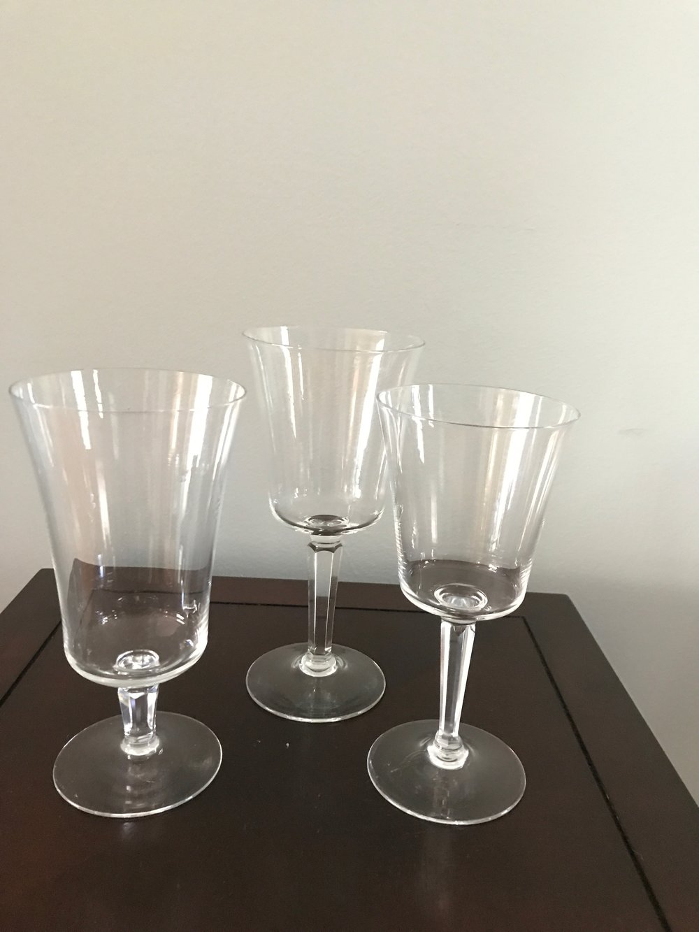 Lenox Crystal, Barclay Pattern