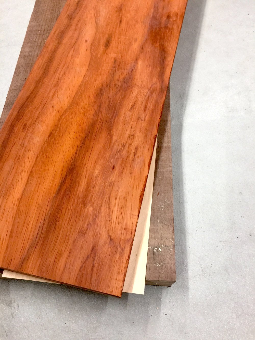 Padauk  over walnut with maple accent - Top only.jpg