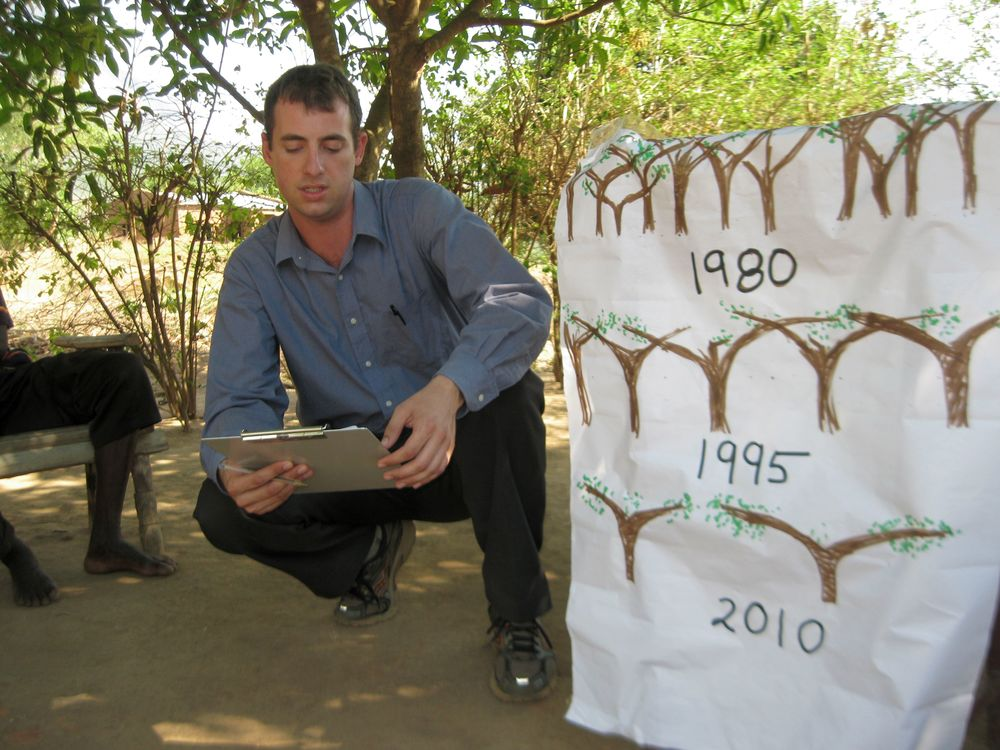 Presenting Research Results, Malawi, Africa