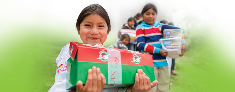 Operation Christmas Child Shoebox Delivery