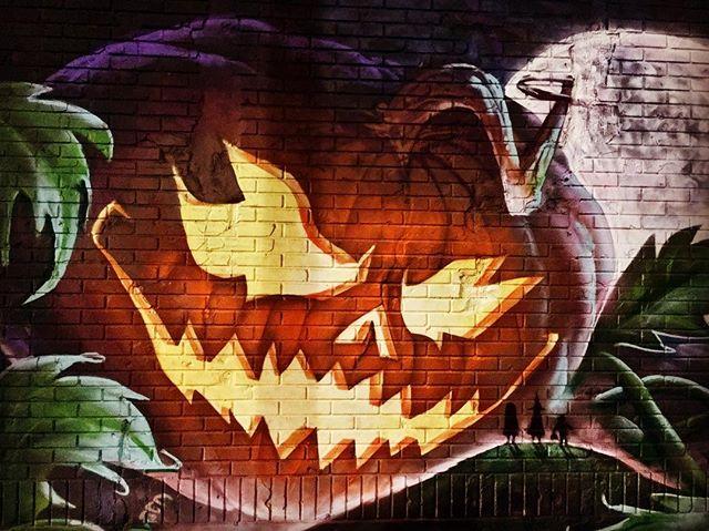 #streetart #halloween
