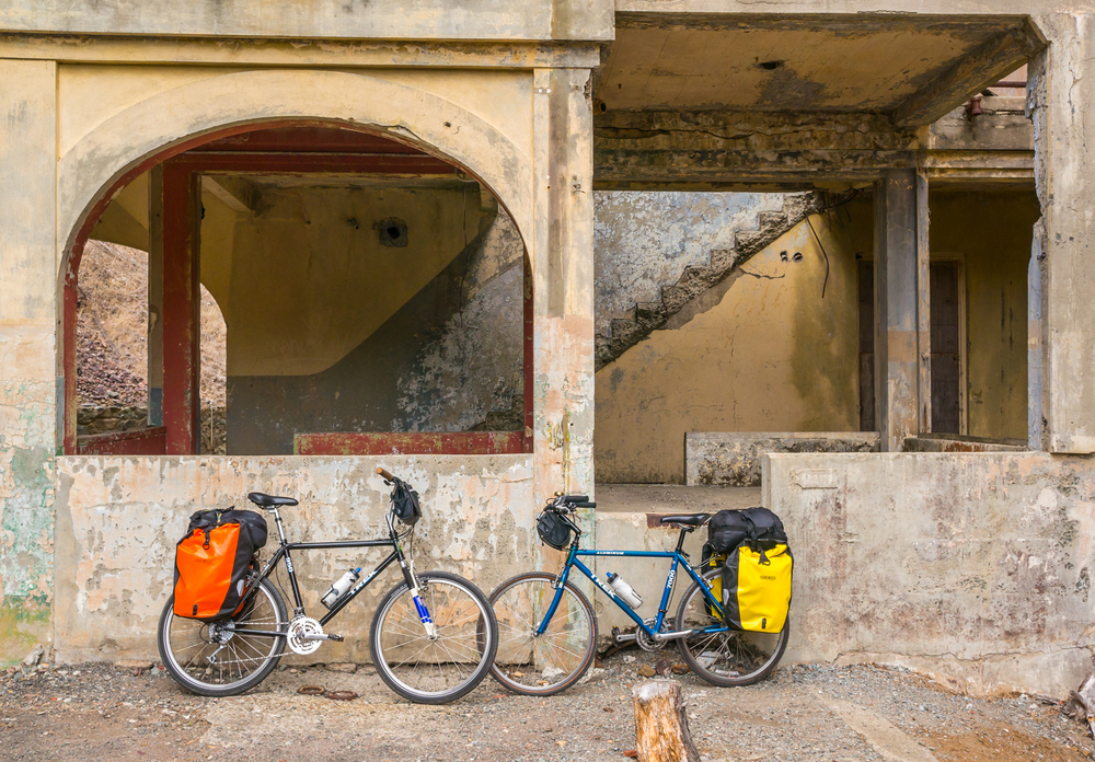 Angel Island Architecture Building Bikes Ruins Decay