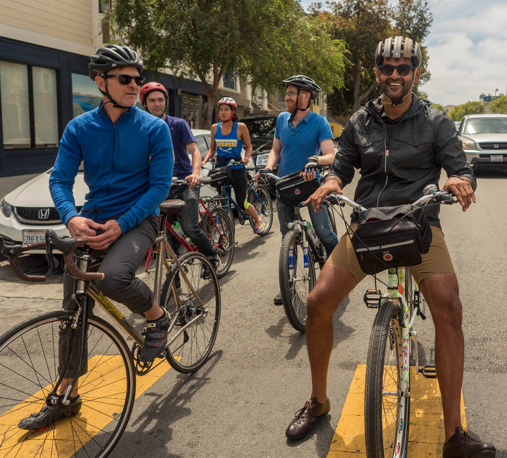San Francisco bike tours - Pedal Inn