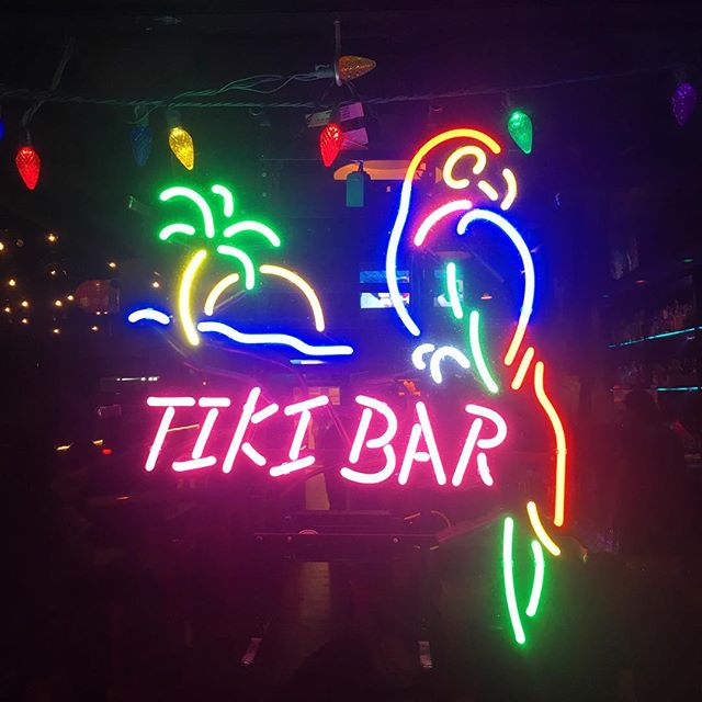 Was super excited to see this neon sign as we are obsessive tiki-culture fans.  Though it was an ironic hipster ploy, I still want this sign for our upcoming rebranded/endless-Mai-Tai-summer bike tour and rental shop.  Stay tuned, dudes!