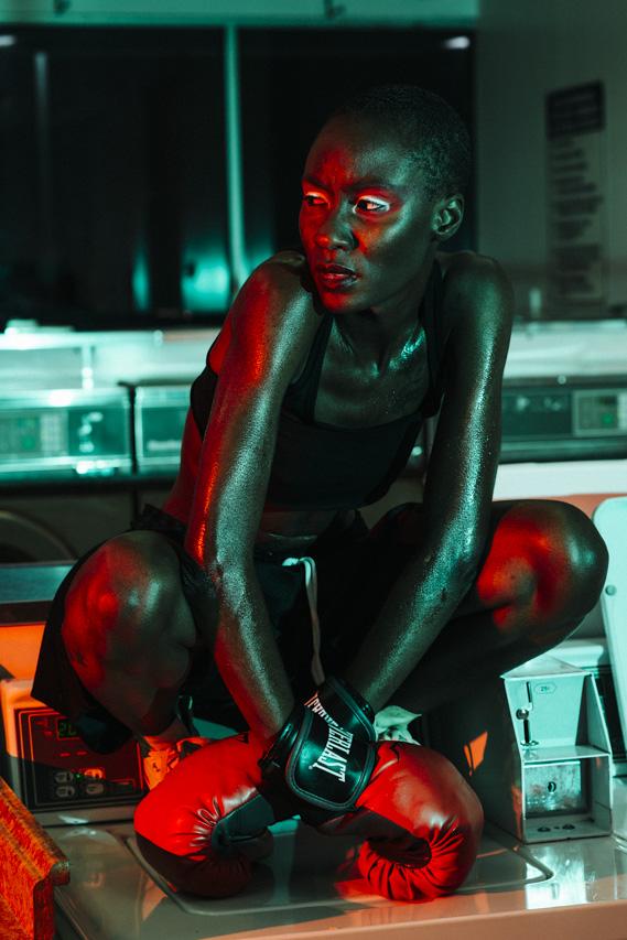 Model: Destiny Owusu  HMUA: Roxanne Fedrow